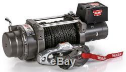 Warn 97720 M12-s 12000 Lb Treuil 100' 3/8 Spydra Synthétique Corde Série Lourde