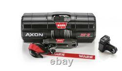 Warn Axon 35-s Atv/utv Winch Avec 50 X 3/16 Spydura Synthetic Rope
