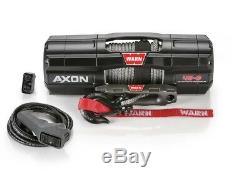 Warn Axon 4500 Lb Winch Synthétique Corde 101140 Rzr X3 Rs1 Wildcat Utv Atv Sxs