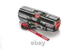 Warn Axon 45-s Atv/utv Winch Avec 50 X 1/4 Spydura Synthetic Rope