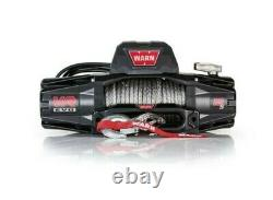 Warn Vr Evo 12-s 12,000 Lb Winch Avec Corde Synthétique Pour Camion Jeep &