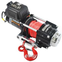 Warrior Ninja C3500 12v Treuil Électrique Avec Corde Synthétique 35spa12