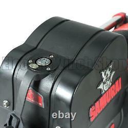 Warrior Samurai 12000 24v Nouvelle Génération V2 Électrique Winch Avec Corde Synthétique