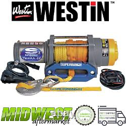 Westin Superwinch Terra 45sr Corde Synthétique Treuil Électrique Ajustement Universel