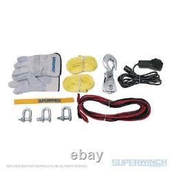 Westin Superwinch Winch2go Sr Synthetic Rope Electric Winch Fitment Universel