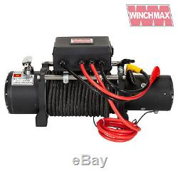 Winch Electrique 12v 4x4 13500lb Militaire Spec. Winchmax Marque + Synthetique Corde