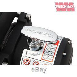 Winch Electrique 12v 4x4 13,000lb Militaire Spec Présentées Winchmax Synthetique Corde