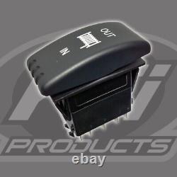 Winch Kit 4500 Lb Pour Kawasaki Teryx Krx 1000 2020 (synthetic Rope)