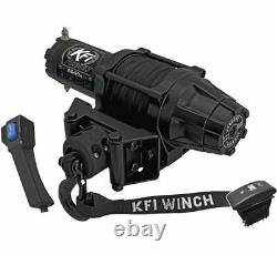 Winch Kit 5000 Lb Pour Kubota Rtv-x1100c Current (synthetic Rope)