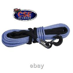Winch Synthétique Corde 11/32 X100' Dyneema Sk-75 Pour Jeep 4x4 Robuste Ridge